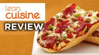 Lean Cuisine Deluxe French Bread Pizza Video Review: Freezerburns (Ep493)