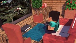 Minecraft Mod - PLAYSTATION E XBOX NO MINECRAFT! - Games Console Mod