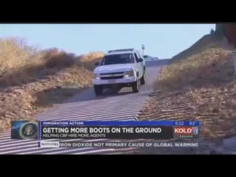 KOLD Covers Sen. Flake's Boots on the Border Act