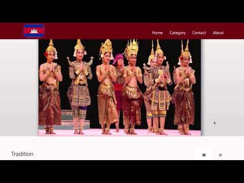 Cambodia Heritage Trust Website
