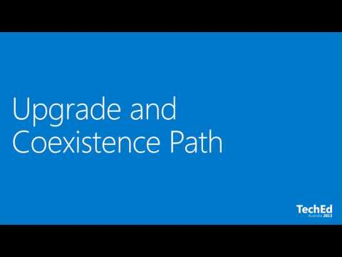 TechEd Australia 2013 Exchange Server 2013 Upgrade and Coexistence
