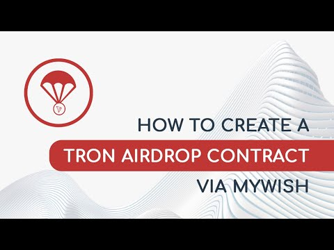 How to create TRON Airdrop contract (version 1 17 2)