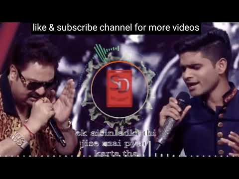 Salman ali performance on ek aisi ladki thi song indian idol 20 oct 2018