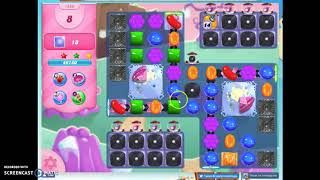 Candy Crush Level 1469 Audio Talkthrough, 3 Stars 0 Boosters