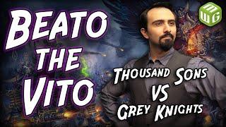 Thousand Sons vs Grey Knights KILL TEAM Battle Report - Beato the Vito Ep 1