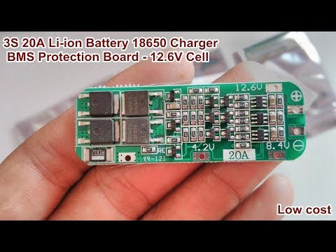 3S 5A 12V Li-ion Lithium Battery 18650 Charger PCB BMS Protection Board Cell/_*sh