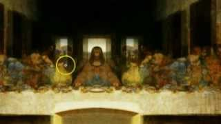 ★ iLLuminati Last Supper Painting of Jesus - Mirrored / inverted - Leonardo Davinci - FULLY EXPOSED