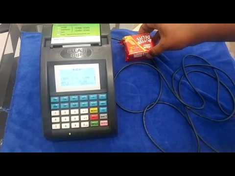 Attaching Barcode Scanner to Billing Machine