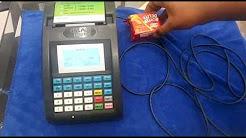 Attaching Barcode Scanner to Billing Machine