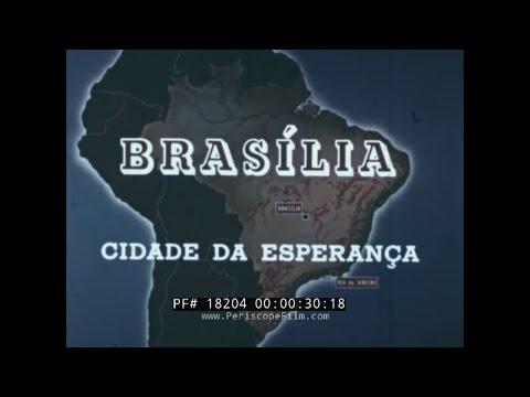 """"""" BRASILIA CITY OF HOPE """"  BRAZIL STANDARD OIL CO. DOCUMENTARY  OSCAR NEIMEYER 18204"""