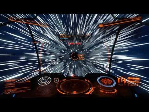 Elite Dangerous Planet Rings and Planet Landing
