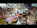 Floating Market And Railway Market | Bangkok, Thailand