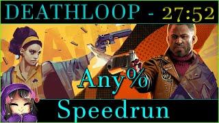 DEATHLOOP - Any% Speedrun 27:52 PB
