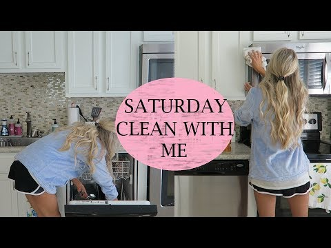 Saturday Morning Clean With Me | Cleaning Motivation | Erica Lee