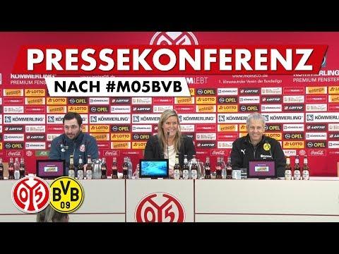 Pressekonferenz nach dem Spiel gegen Dortmund | #M05BVB