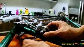 Vintage Road Bicycle Torelli Rebuilding - Restoration - grzanetti - Restauração bicicleta