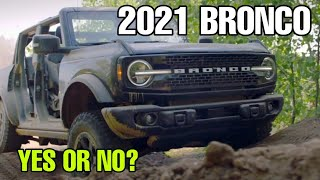 THE 2021 Ford BRONCO Reveal! WOW!