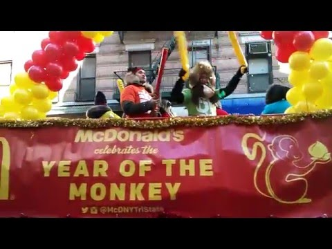 Ronald McDonald House Charities Participates In The Chinese Lunar New Year Parade In NYC