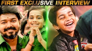MERSAL Ilayathalapathy's First Exclusive Interview | Mersalaana Performance by Kutty Vijay! | US109