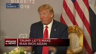 Donald Trump quot;Let39;s make Iran rich againquot;  Squawk Box Europe