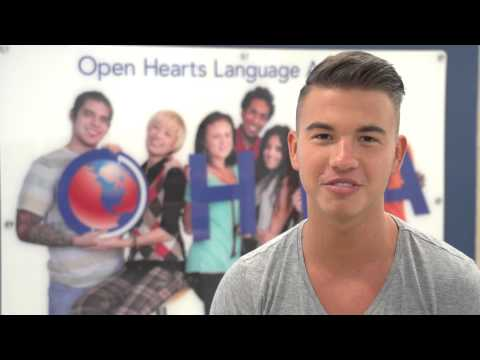 Student from Hungary Testimonial (Open Hearts Language Academy).