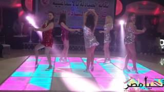الفقرة الثانية لعرض الفرقة الروسية للفنون الشعبية فى حفل بقاعة ماسة للحفلات فى الاسماعيلية