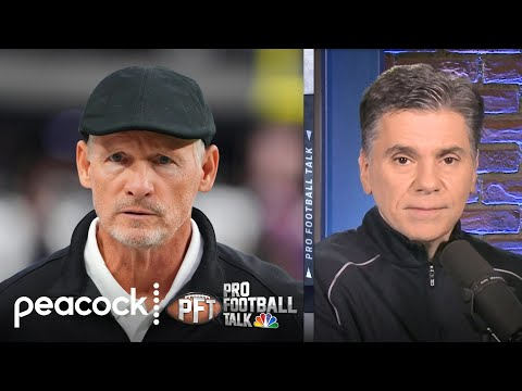 Raiders GM Mike Mayock doing all the cleanup in Las Vegas | Pro Football Talk | NBC Sports