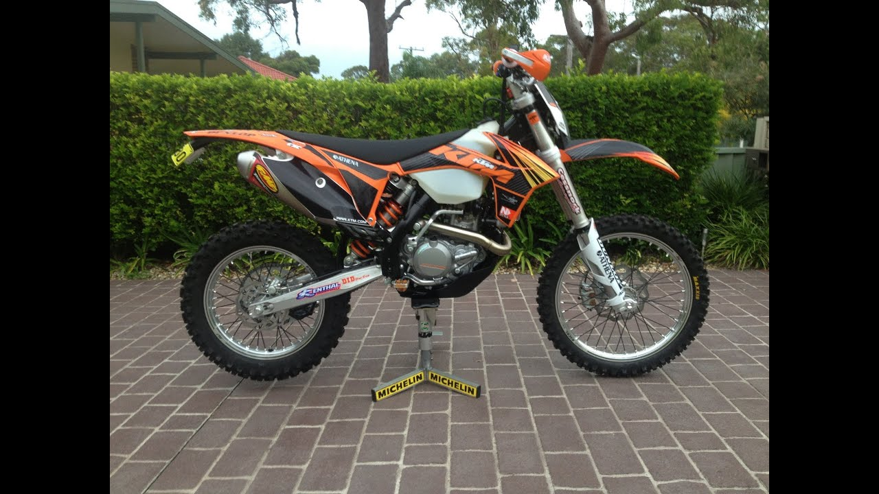 Go Pro 2013 KTM 450 EXC First Ride. Watagans. - YouTube