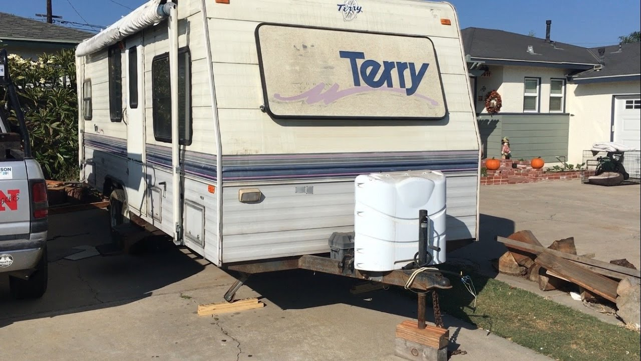 NEW TRAILER REVEAL: 1994 FLEETWOOD TERRY - YouTube on towlite trailers, newmar trailers, trail lite trailers, dutchmen trailers, everlite trailers, hy-line trailers, hornet trailers, prime time trailers, sunset trail trailers, ultra lite trailers, r vision trailers, sidekick trailers, ultra light trailers, shadow cruiser trailers, forest river trailers, pilgrim trailers, kz trailers, knaus trailers, v-cross trailers, ultra hauler trailers,