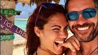 """La declaración de amor de Edu Blanco a Lara Álvarez: """"Gracias por estos 8 meses increíbles"""""""