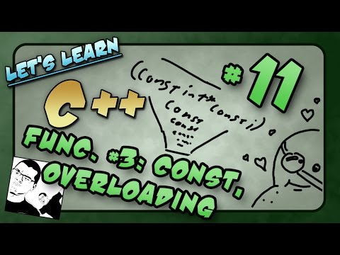 Let's Learn C++ ~ Basics: 11 of 14  ~ Functions p3: Const, Pre/Post Conditions