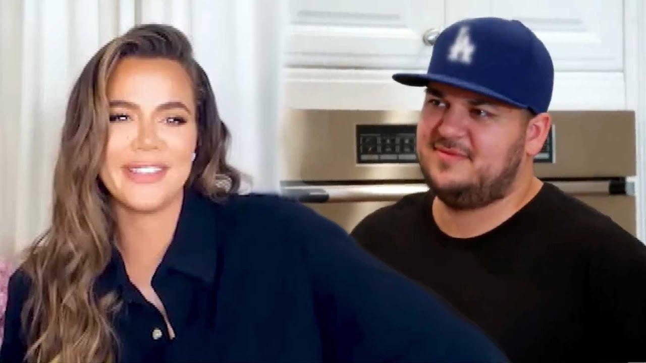 Khloe Kardashian TEASES Rob Kardashian's Return to KUWTK