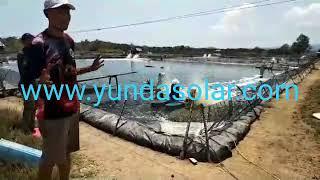 Solar Aerator/Kincir Air Tambak Tenaga Surya