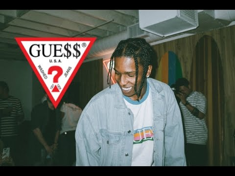 A$AP ROCKY x GUESS CLUB 2017 COLLECTION! (INFO/REVIEW!)