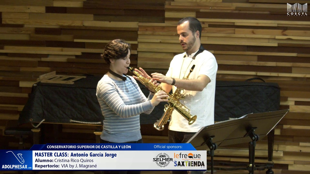 MASTER CLASS - Antonio Garcia Jorge - Cristina Rico Quirós (COSCYL)