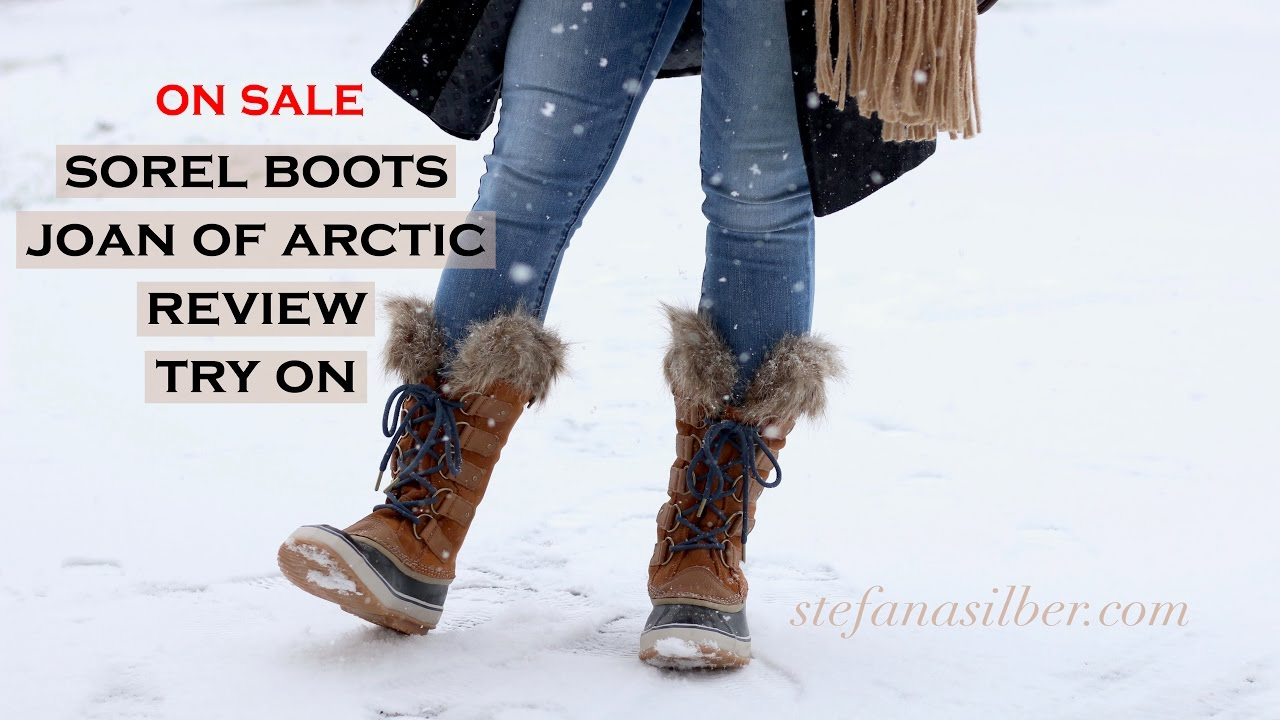2ea3e8687f57 Sorel Joan of Arctic Boots - Reveal and Review - YouTube