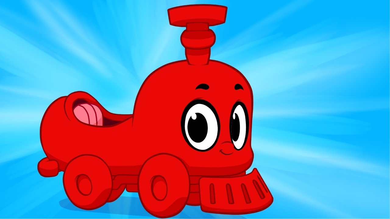 My Red Train Morphle - My Magic Pet Morphle Train Video For Kids