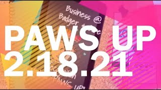 CK/BR/MS Badger Buzz: Virtual School News -& PAWS Up Thursday Edition 2.18.19