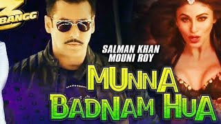 Dabangg 3, Munna Badnaam Hua Video Song, Item Song, Salman Khan, Sonakshi Sinha, alman Special Twist