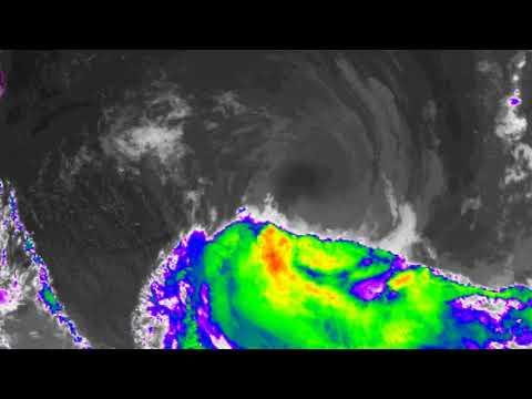 Tropical Cyclone Gita tracking towards New Zealand Monday 19Feb 19:50 AEST +3 NZ