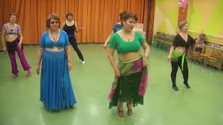 Урок восточных танцев 9