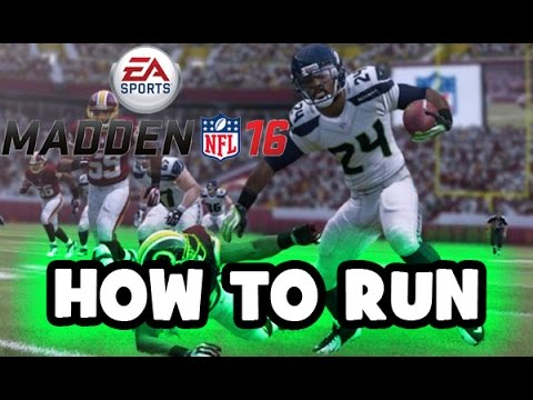 Madden 16 Tutorial: How to Run the Ball - Juke, Stiff Arm, Spin etc   (XBOX  ONE/PS4)