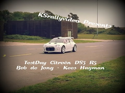 [TEST] Testday Citroën DS3 R5 Bob De Jong 2015 By KSrallyvideo [HD] + ONBOARD