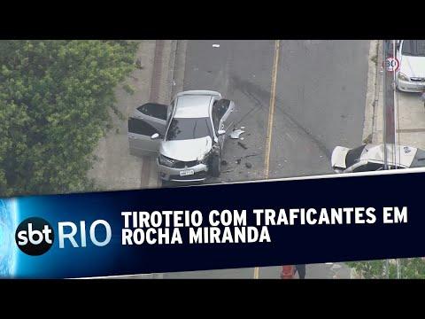 Tiroteio com bandidos em Rocha Miranda
