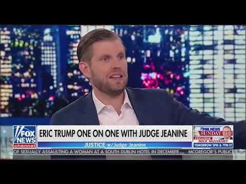 WATCH: Eric Trump Blasts Other Political Families For 'Enriching Themselves'