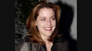 Gillian Anderson and David Duchovny -