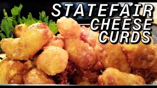 Deep Fried Cheese Curds | State Fair Cheese Curds Recipe | How To Make Cheese Curds