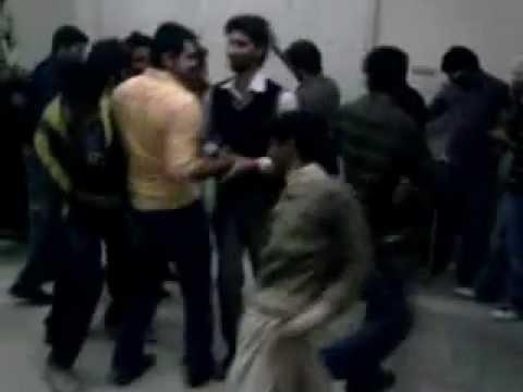 Dance in University of gujrat