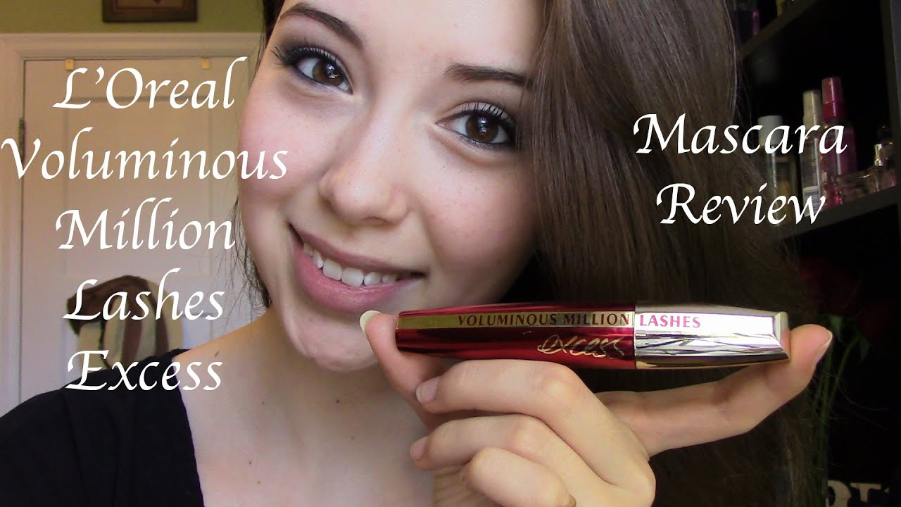 979a1a0a248 L'Oreal Voluminous Million Lashes Excess Mascara Review/Demo - YouTube