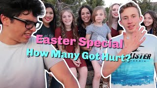 HOW MANY GOT HURT? | Easter Special | Ouch!
